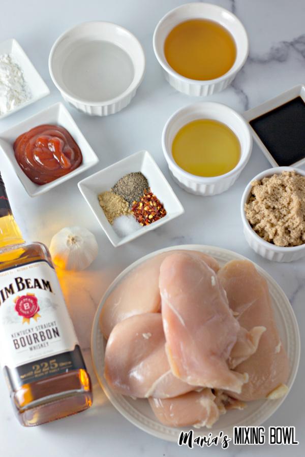 ingredients for chicken dish