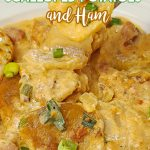 Crock Pot Scalloped Potatoes and Ham