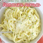 Copycat Olive Garden Fettuccine Alfredo