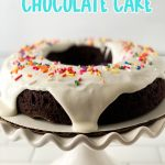 Three Ingredient Chocolate Cake with Icing