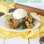 Chocolate Mint Oreo Dump Cake