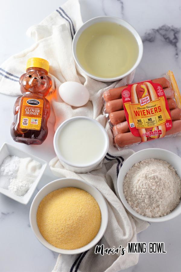 Corndog ingredients