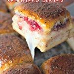 rolls, turkey, cheese on rolls